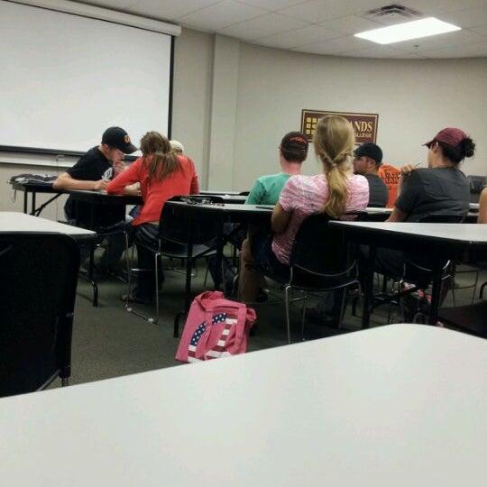 Photo taken at Redlands Community College by Jordan G. on 4/30/2012