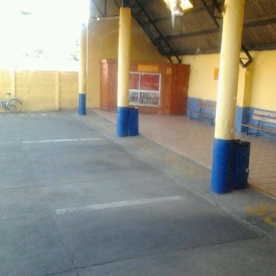 Photo taken at Terminal Buses Bio Bio Victoria by Belén M. on 4/14/2012