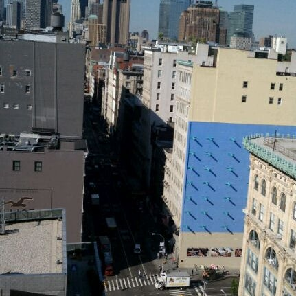 Photo taken at Meetup HQ Roof Deck by gomezcam on 6/1/2012
