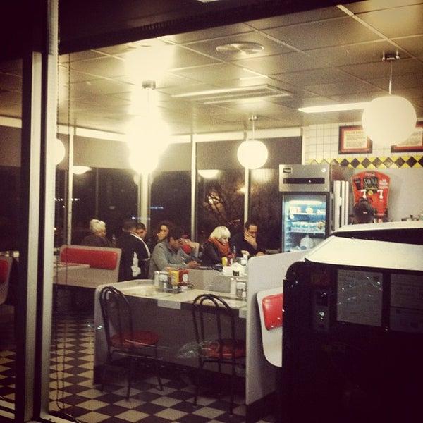 Photo taken at Waffle House by Matt K. on 3/10/2012