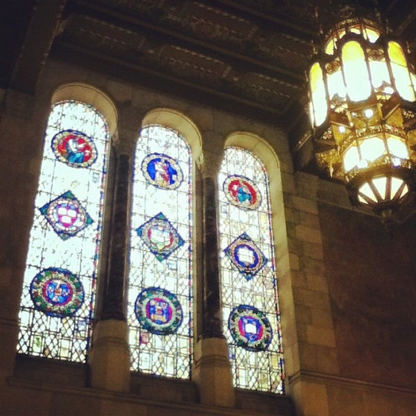 Photo taken at Doheny Memorial Library (DML) by Angel H. on 2/16/2012