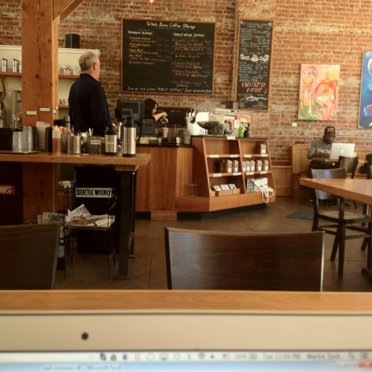 Photo taken at Victrola Cafe and Roastery by Martin Z. on 9/11/2012
