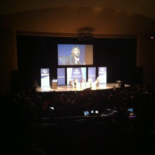 Photo taken at Lisner Auditorium by Adham S. on 3/31/2012