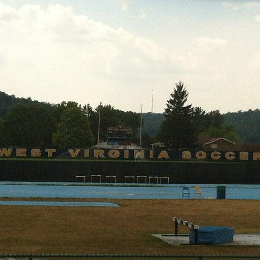 Photo taken at Dick Dlesk Soccer Stadium by Steven M. on 7/16/2012