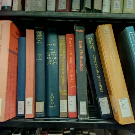 Photo taken at Doheny Memorial Library (DML) by Jeremy O. on 9/8/2012
