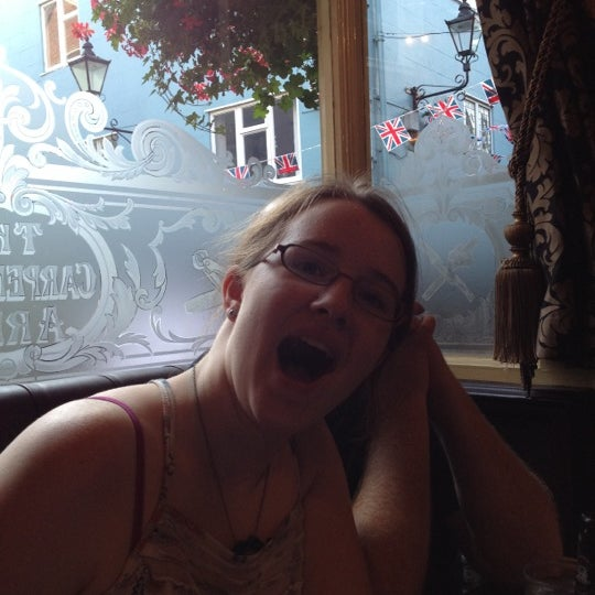 Photo taken at The Carpenters Arms by Heather M. on 7/28/2012