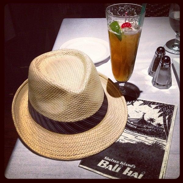 Photo taken at Bali Hai Restaurant by Aaron R. on 6/23/2012