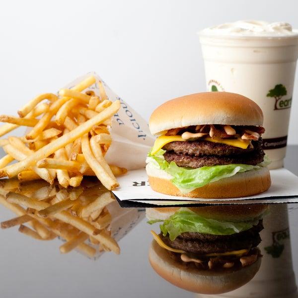 Burger + Fries + Milkshake = Happy Stomach