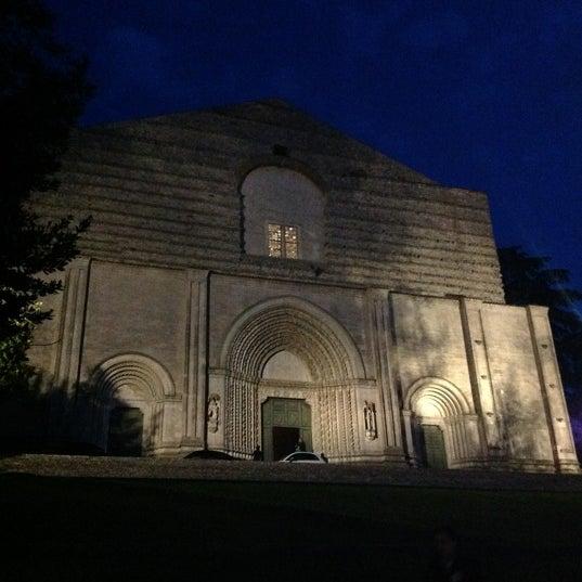 Photo taken at Basilica di San Fortunato by DiscoveringUmbria on 5/19/2012
