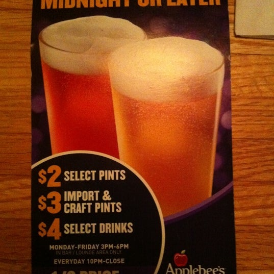 $2 select pints, $3 imports & craft pints, $4 select drinks. Monday-Friday 3PM-6PM (Bar area only).        Everyday 10PM-Close