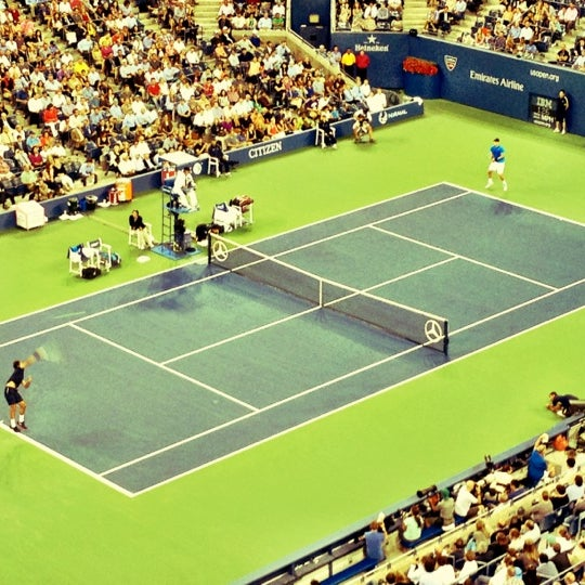 Photo taken at US Open Tennis Championships by Chase W. on 9/6/2012