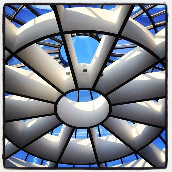 Photo taken at Pinakothek der Moderne by Jimbo B. on 10/21/2011