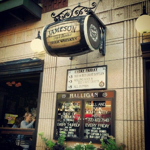 Photo taken at Halligan Bar by Jill F. on 8/17/2012