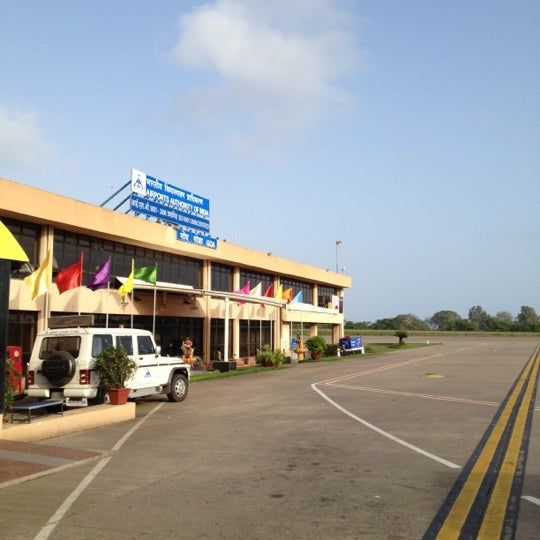 Photo taken at Goa International Airport / Dabolim Airport (GOI) by Vinay on 7/5/2012