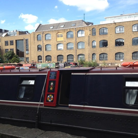 Photo taken at London Canal Museum by Barbara C. on 7/22/2012