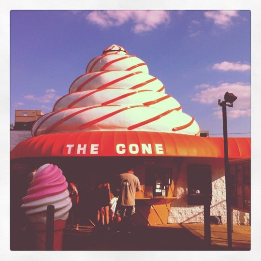 Photo taken at The Cone by Lauren A. on 6/9/2012