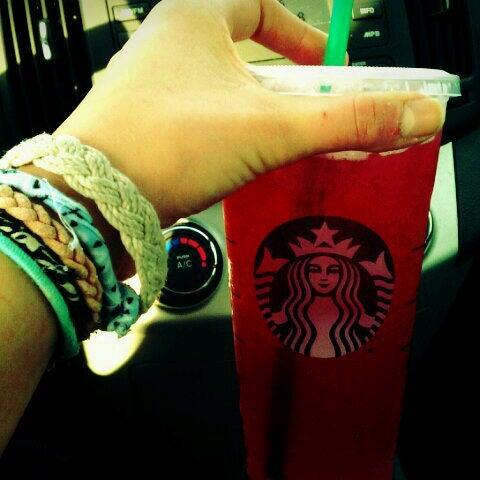 Photo taken at Starbucks by Lauren W. on 11/8/2011