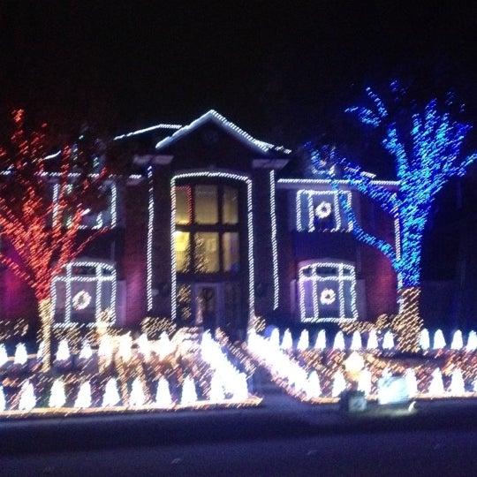 photo taken at gordon lights christmas display by dan c on 1213 - Deerfield Plano Christmas Lights