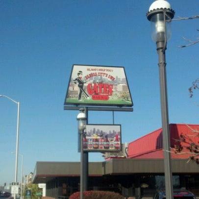 Photo taken at Gates Bar-B-Q by Nik S. on 11/12/2011