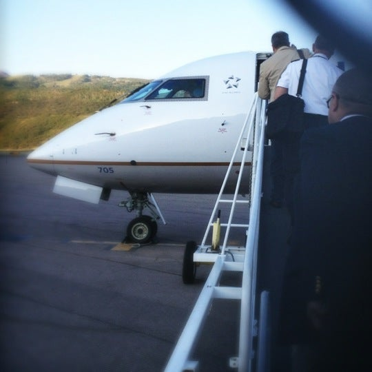 Photo taken at Aspen/Pitkin County Airport (ASE) by Chuck O. on 7/2/2012