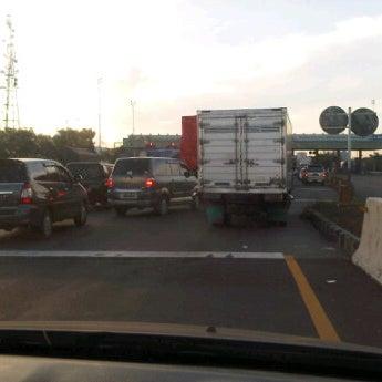 Photo taken at Tol Surabaya Gresik by Dhorin S. on 5/6/2012