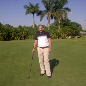 Photo taken at Palmetto Golf Course by Cristina D. on 11/11/2011