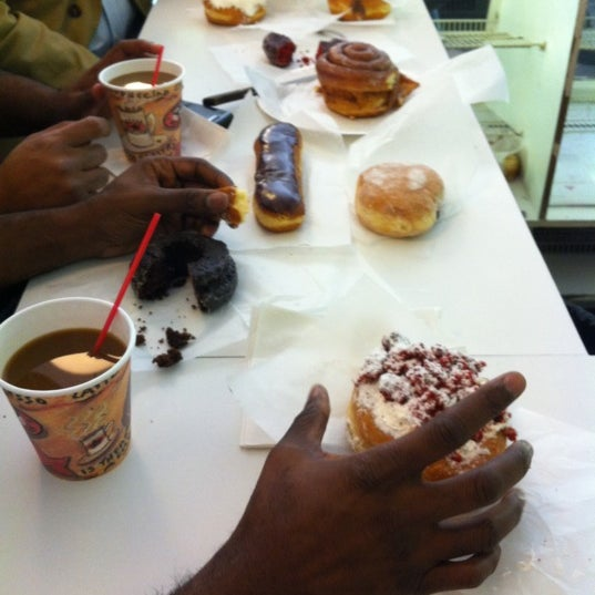 Photo taken at Peter Pan Donut & Pastry Shop by Michael L. on 10/7/2011