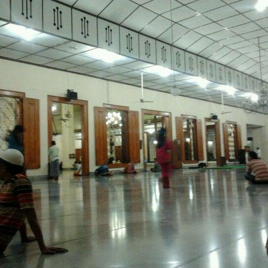 Photo taken at Masjid Jami' Kauman Pekalongan by Gus W. on 12/31/2011
