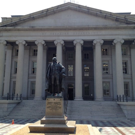 Photo taken at US Department of the Treasury by Angel N. on 8/21/2012