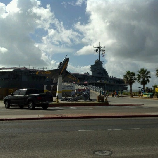 Photo taken at USS Lexington Museum On The Bay by Jeremy on 7/24/2012