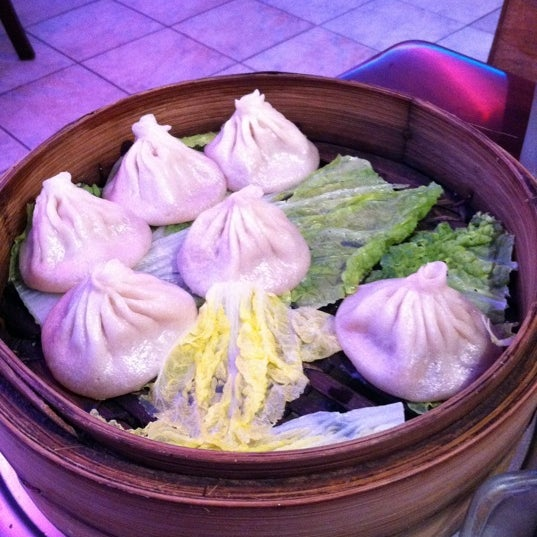 The best soup dumplings in the city! Amazingly never too crowded, and spacious for Chinatown.