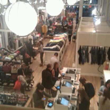 Photo taken at Madewell by Alex T. on 3/29/2012