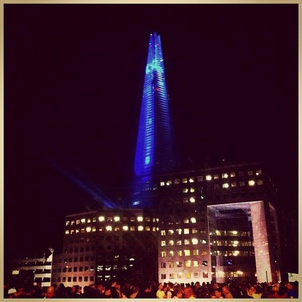 Photo taken at London Bridge by Chris K. on 7/5/2012