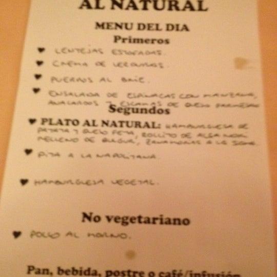 Foto scattata a Al Natural da Jacobo R. il 4/26/2012