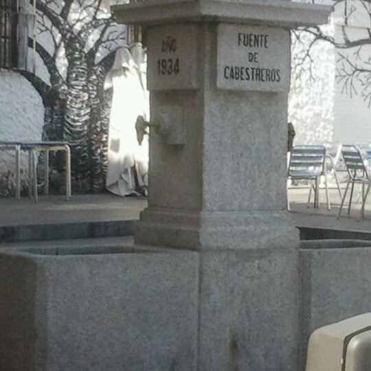 Photo taken at Plaza de Nelson Mandela by Raul on 3/24/2012