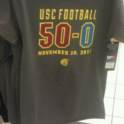 Photo taken at USC Bookstore (BKS) by Grace C. on 1/10/2012