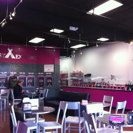Photo taken at Yogurt Extreme by Peter H. on 2/16/2012
