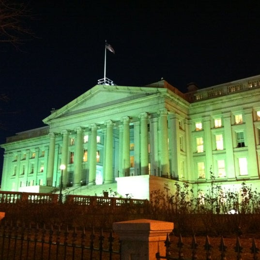Photo taken at US Department of the Treasury by Beth H. on 2/21/2012