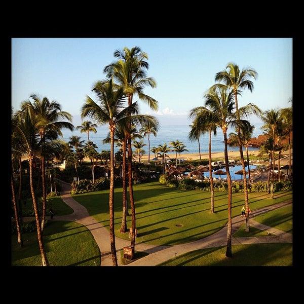 Photo taken at Sheraton Maui Resort & Spa by TP P. on 1/26/2012