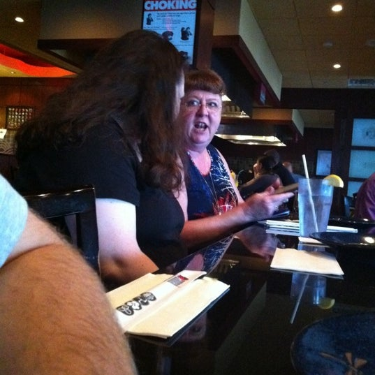 Photo taken at Samurai Japanese Steakhouse by Scott K. on 7/28/2011