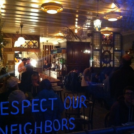 Photo taken at Vinegar Hill House by Vanessa P. on 3/5/2011