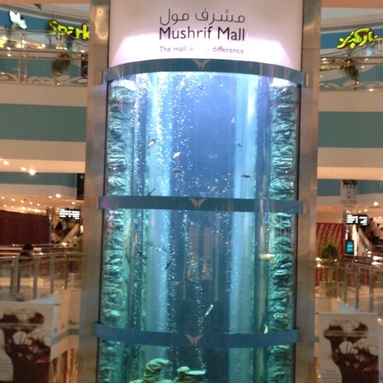 Photo taken at Mushrif Mall by Yousif A. on 7/10/2012