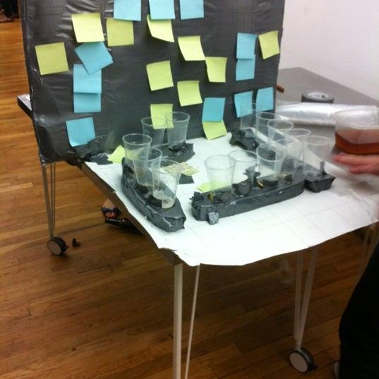 Photo taken at Thrillist HQ by qwertney on 5/18/2012