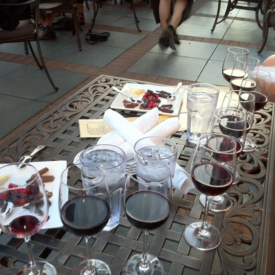 Photo taken at Parallel Wine Bistro by Ticking A. on 8/12/2011