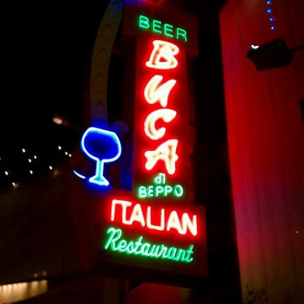 Photo taken at Buca di Beppo by Bez R. on 1/1/2012
