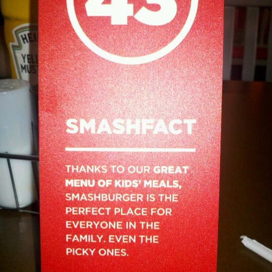 Photo taken at Smashburger by Sherry G. on 4/4/2012