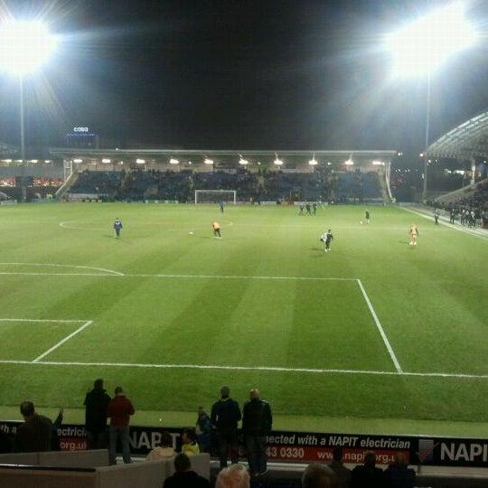 Photo taken at The Proact Stadium by Richard C. on 2/28/2012