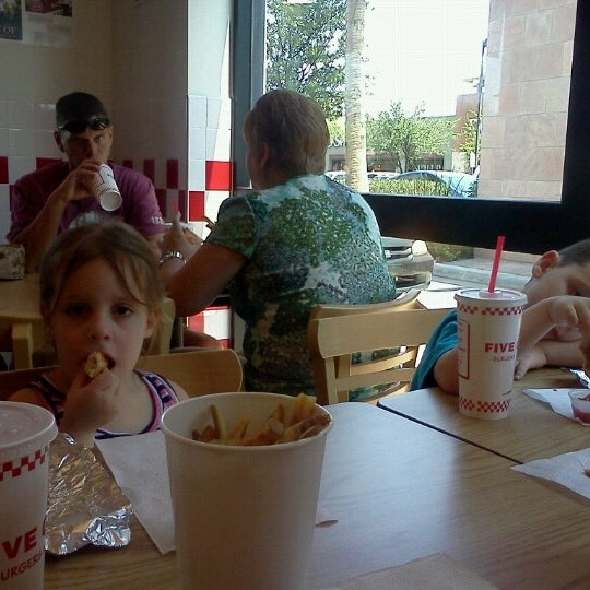 Photo taken at Five Guys by Greg D. on 6/23/2012