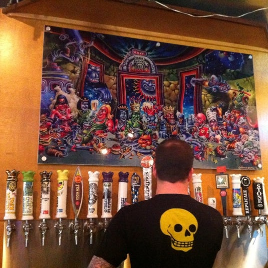 Photo taken at 3 Floyds Brewery & Pub by Lauren on 8/22/2012