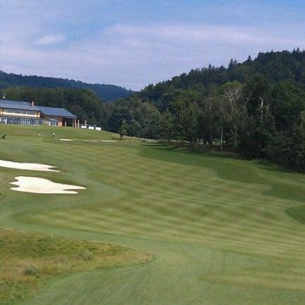 Photo taken at Ypsilon Golf Resort Liberec by Michal M. on 8/6/2012